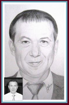 Портрет по фото. Формат А3. Простой карандаш. Автор Мороз Олеся. vk.com/portretyk Portrait photo . A3 format . Simple pencil . Author Moroz Olesya.
