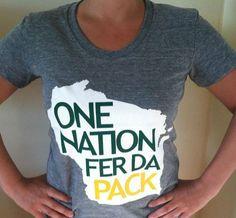 Green Bay Packers Tshirts - Women's