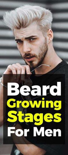 Beard Growing Stages Latest Beard Styles, Beard Styles For Men, Mens Fashion Blog, Latest Mens Fashion, Men's Fashion, Fashion 2020, Shaving Tips, Beard Tattoo, Tattoo Man