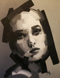 "Saatchi Online Artist Solly Smook; Painting, ""fragment 6 - SOLD"" #art"