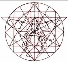 "in his book ""Sacred Geometry – Philosophy and Practice"", Robert Lawlor has an interesting picture on the connection between sacred geometry and the honey bee."