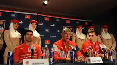 Arsenal at Red Bulls press conference