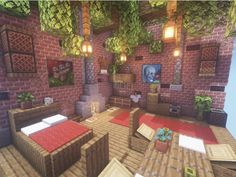 Old room design! Here are a lot of small tricks you can pick up and use! 😉 … Old room design! Here are a lot of small tricks you can pick up and use! 😉 ——- An Original Minecraft Design By Kugio 🌲 Default Textures /… Memes Minecraft, Minecraft Plans, Minecraft Room, Minecraft Survival, Minecraft Tutorial, Minecraft Blueprints, Minecraft Crafts, Minecraft Furniture, Minecraft Stuff