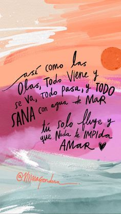Really Good Quotes, Pretty Quotes, Motivational Phrases, Inspirational Quotes, Woman Quotes, Life Quotes, Quotes En Espanol, Beach Quotes, Note To Self