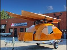 Teardrop Camper Kit by Chesapeake Light Craft - HD 1080p - YouTube