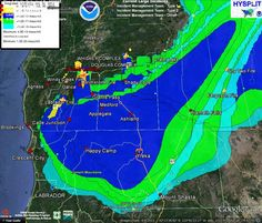 Twitter / weathercaster: Smoke to fill much of the region. ...