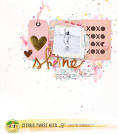 Shine February 2015 Love Letters Main Kit