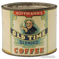 Hoffmann's Old Time Coffee