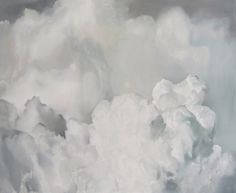 Echo by Robyn Penn Sky, Abstract Artwork, Clouds, Artwork, Abstract