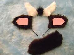 Billy Goat Gruff Ears And Tail Set Chocolate Brown Pink & White Fancy Dress Best Fancy Dress Costumes, Cute Costumes, Costume Ideas, Baby Halloween Outfits, Halloween 2019, Diy Halloween, Nativity Costumes, Billy Goats Gruff, Barn Wood Crafts