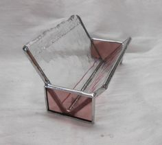 Stained Glass Business Card Holder by SherryCarrigan on Etsy, $23.00