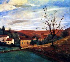 Italian Landscape / Andre Derain - 1920
