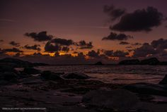 Sunset at Vigdel beach - null
