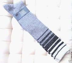 Natacha women/'s super-soft bamboo crew socks in slateBy Thought