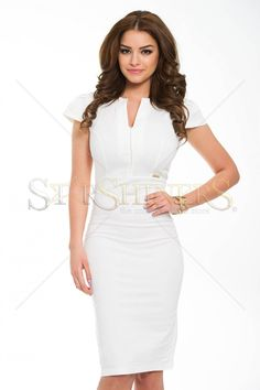 Rochie PrettyGirl Costly Crem - MuJeR.ro http://www.mujer.ro/rochie-prettygirl-costly-crem