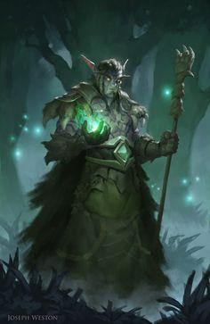 Men in fantasy art — Arikh Evergreen by Joseph Weston Fantasy Races, Fantasy Rpg, Medieval Fantasy, Fantasy Artwork, Dark Fantasy, Dungeons And Dragons Characters, Dnd Characters, Fantasy Characters, Fantasy Character Design