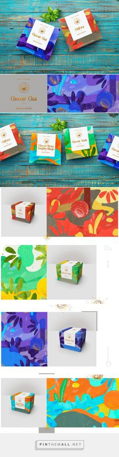 TITEA® Mini Box Tea by Nacho Huiza. Source: Behance. Pin curated by #SFields99 #packaging #design #inspiration #ideas #branding #product #tea #nachohuiza