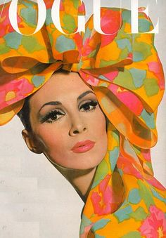 Vogue US, 1965, the year I was born. I own that scarf!