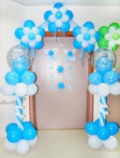 Pink Hospital Door Decorations, School Decorations, Balloon Decorations, Birthday Party Decorations, Baby Shower Decorations, Shower Bebe, Boy Shower, Shower Party, Baby Shower Balloons