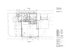 . Reiss, Diagram, Floor Plans, Architecture, Music, Muziek, Musik, Architecture Illustrations, Floor Plan Drawing