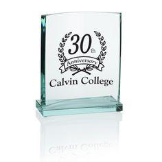 This custom award symbolizes your gratitude and respect!