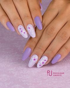 49 super ideas for nails fall september French Manicure Gel, French Nails, Gel Manicure At Home, Glitter Manicure, Nail Manicure, White Nail Designs, Simple Nail Designs, Nail Art Designs, Purple Nails