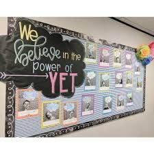 Image result for the power of yet bulletin board ideas