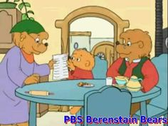 The Berenstain Bears - Trouble At School  ( First episode )---->be proactive, begin with the end in mind, put first things first