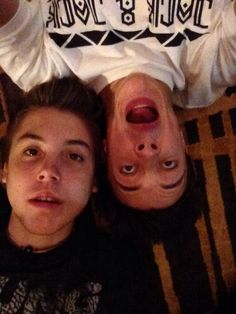 Matthew Espinosa and Cameron Dallas..