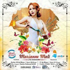 Cresta Metálica Producciones » Marianne Malí seducirá a CARACAS y VALENCIA con su Blues Live SexyOn