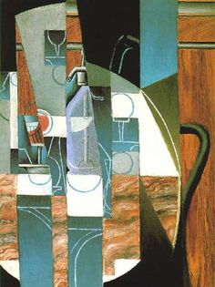Cuadros de Juan Gris. Cubismo del siglo XX >> Repro-Arte