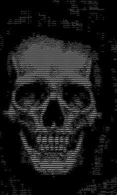 Skull ASCII ART ;)