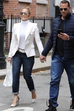Jennifer Lopez With Robert Kraft at Bar Pitti May 5 2018 #JLo #NYCStyle