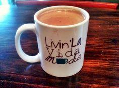 Livin' La Vida Mocha Coffee Mug! Now available on http://www.MerryMug.com $6.50