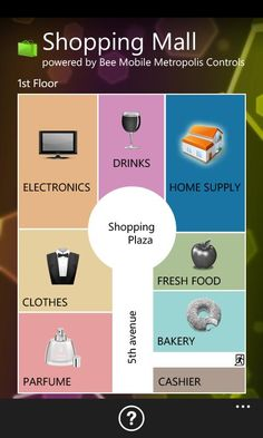 mobile app for shopping mall - Google Search