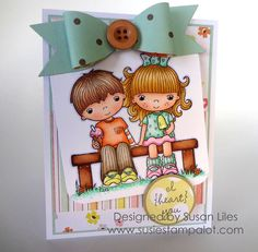I {heart} you by susiestampalot - Cards and Paper Crafts at Splitcoaststampers