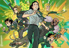 Loki Tv, Marvel Funny, Marvel Memes, Marvel Avengers, Marvel Universe, Comics Spiderman, Dc Comics, Marvel Fan Art, Loki Laufeyson