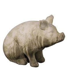 Another great find on #zulily! Pig Figurine #zulilyfinds