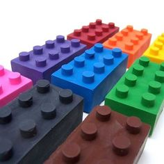 Lego erasers. Follow the link for other Lego-themed party favors and ideas.