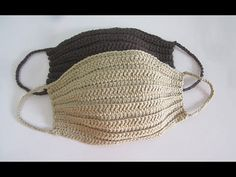 And I want to make cheap and washable face mask. And Im making mask really Sanitized. Crochet Hooded Scarf, Crochet Mask, Crochet Faces, Crochet Beanie, Chrochet, Knit Crochet, Baby Hats Knitting, Loom Knitting, Knitted Hats