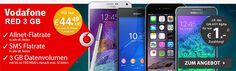 MD Vodafone RED 3GB für 44,49€ mit TOP-Smartphone ab 1€ http://www.simdealz.de/vodafone/mobilcom-debitel-red-3-mit-top-smartphone/