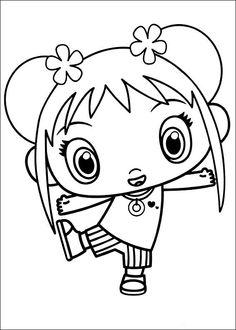 Ni Hao Kai-Lan Tegninger til Farvelægning 27 Tinkerbell Coloring Pages, Coloring Pages For Girls, Coloring Pages To Print, Free Coloring Pages, Printable Coloring Pages, Coloring For Kids, Coloring Books, Kai Lan, Pretty Drawings