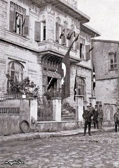 Fransız tankları talimane ve Taksim'de1920