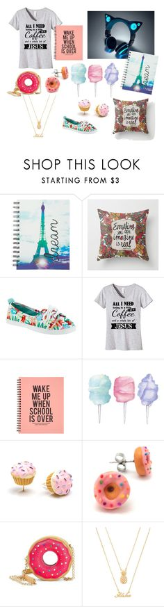 """School does not start tomorrow."" by hannah-cat ❤ liked on Polyvore featuring claire's, Rocket Dog, Cotton Candy, Betsey Johnson and Forever 21"