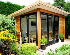 beautiful garden office