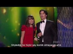 Ian Somerhalder and Lea Michele presenting at Emmy's 2011