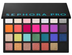 Shop SEPHORA COLLECTION's Sephora PRO Warm Palette at Sephora. This deluxe eyeshadow palette features 28 warm shades, plus a how-to pamphlet. Eye Makeup Tips, Makeup Dupes, Smokey Eye Makeup, Sephora Makeup, Makeup Tools, Eyeshadow Makeup, Makeup Cosmetics, Makeup Brushes, Beauty Makeup