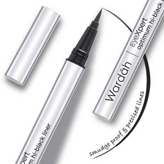 """""""Need a smudge-proof and water-proof eyeliner? Yes, please! Try our new and most favorite product Wardah Eyexpert Optimum Hi-Black Liner and you'll love…"""""""