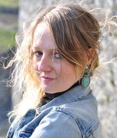 earrings SAGE - Avventurina, cristalli, perline, southache. http://edefjewels.blogspot.it/