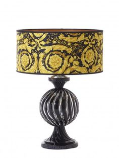 Versace Candy L& with Black Gold Barocco Shade  sc 1 st  Pinterest & Versace Signature Black Lamp 1Pc | Ideas for the House | Pinterest ... azcodes.com